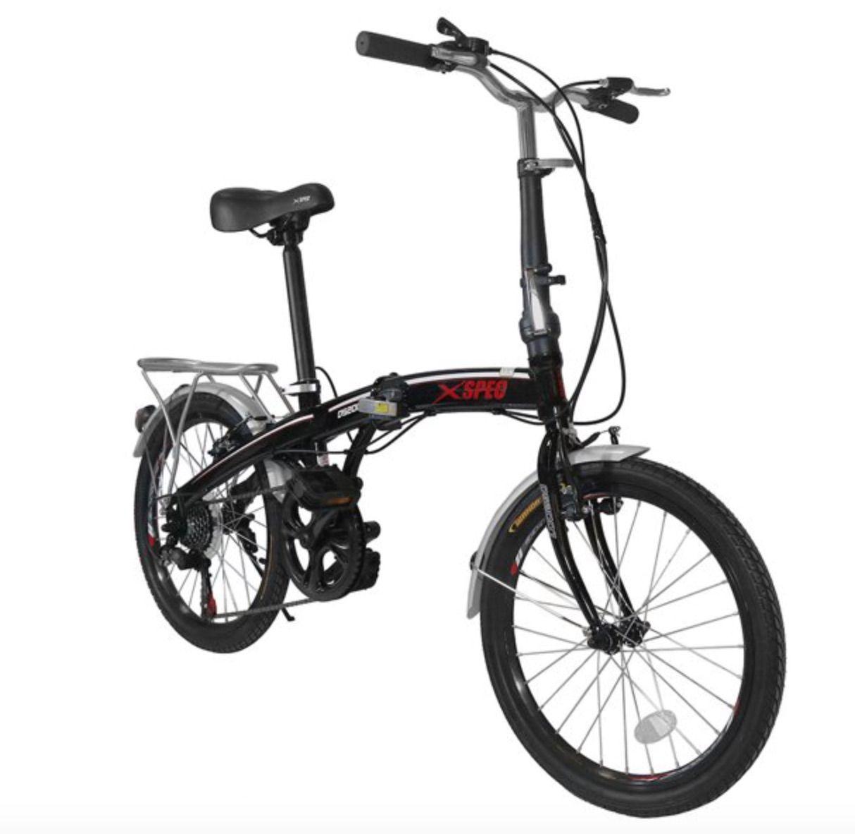 Folding Bike Black