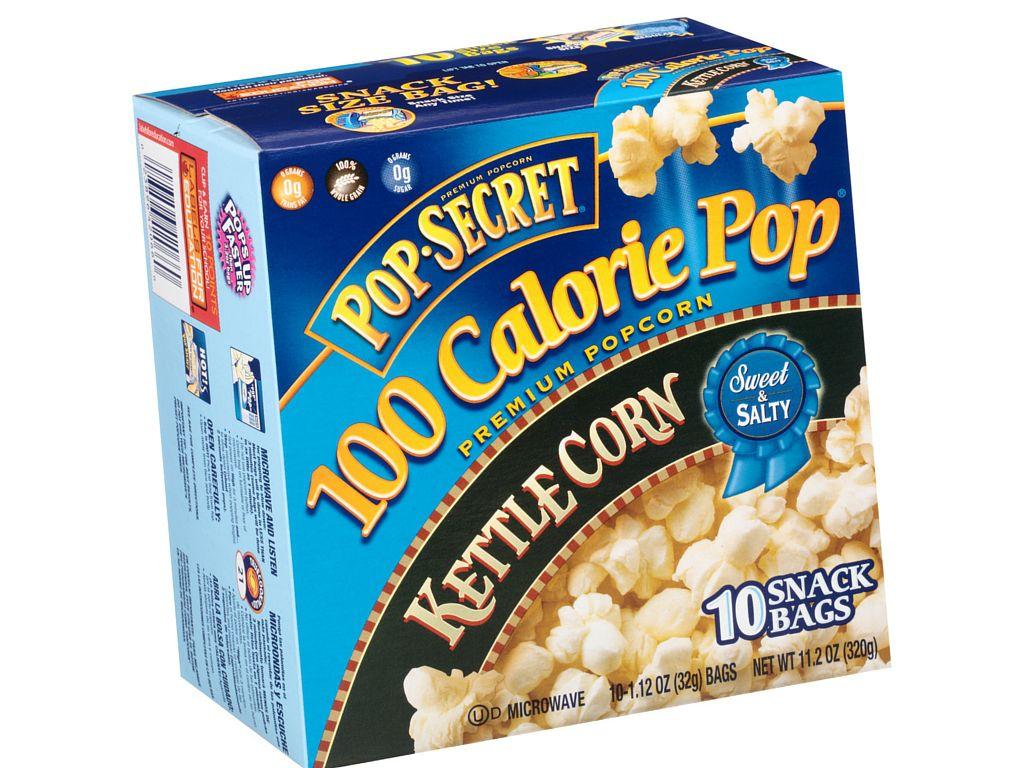 Pop Secret popcorn for weight loss