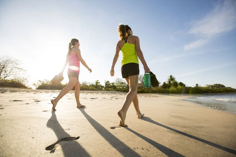 11 tips for better beach walking