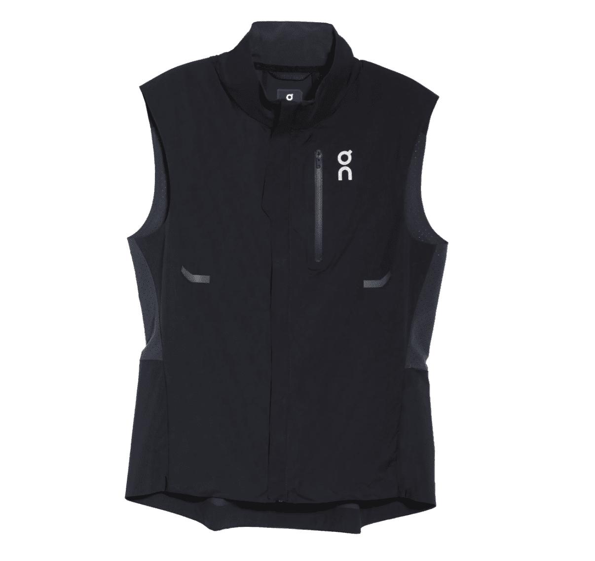 On Weather Water Repellent Running Vest