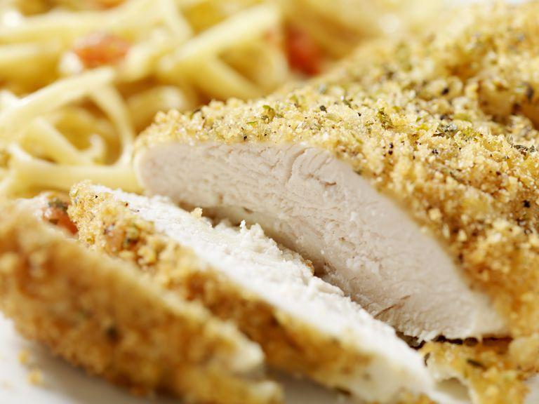 Heartburn Friendly Baked Chicken Parmesan Recipe