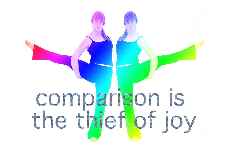 La comparación es el ladrón de la alegría