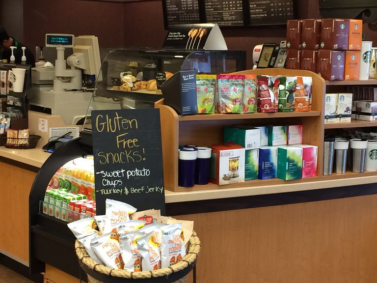 Starbucks Gluten Free List Updated September 2018