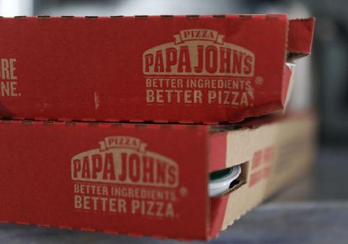 papa johns pizza boxes