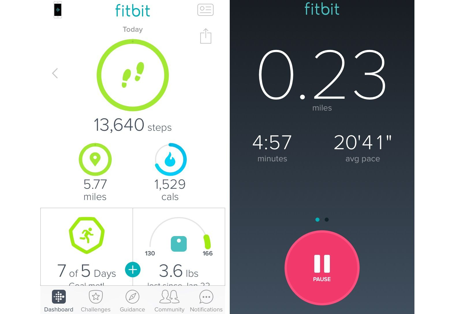 bcc8fb44b359aa Fitbit App MobileTracker (No Fitbit Required)