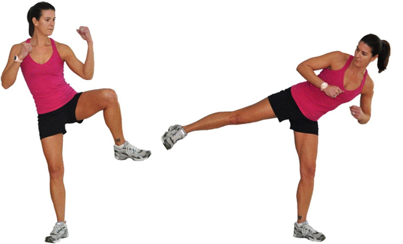 Side Knee with Side Kick