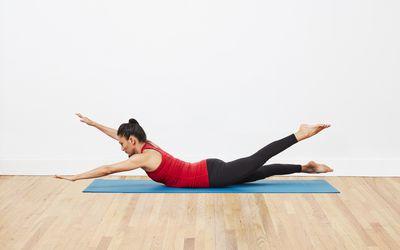 swimming pilates exercise