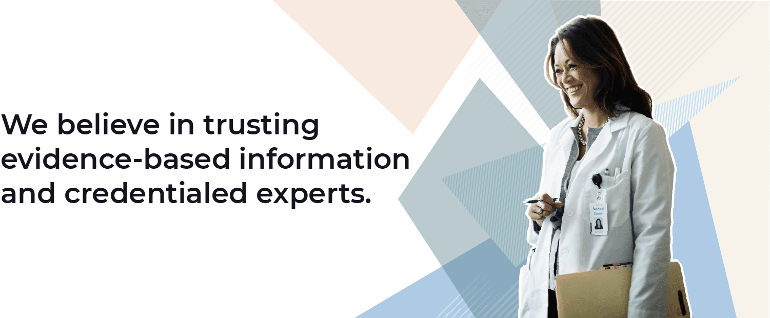 Verywell Fit Core Values: We believe in trusting evidence-based information and credentialed experts.