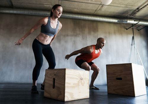 CrossFit Workout Box