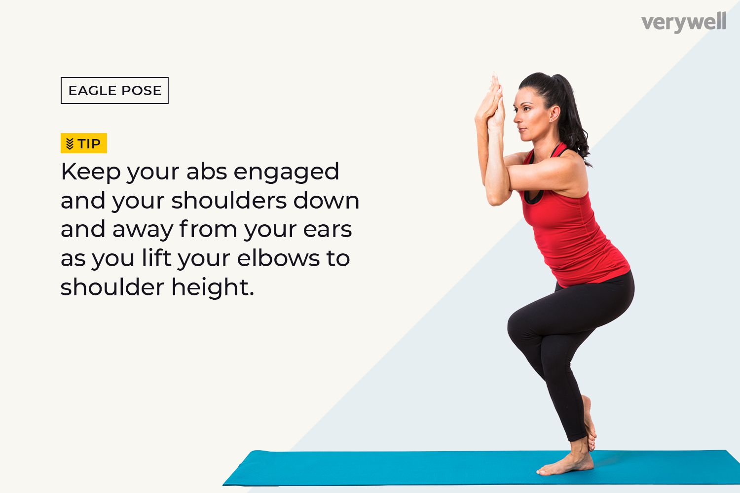 Eagle Pose Muscles Used