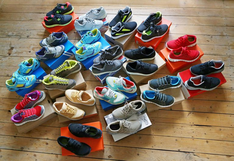 Athletic Shoes in Boxes