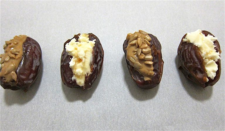 Stuffed Dates 2 Ways