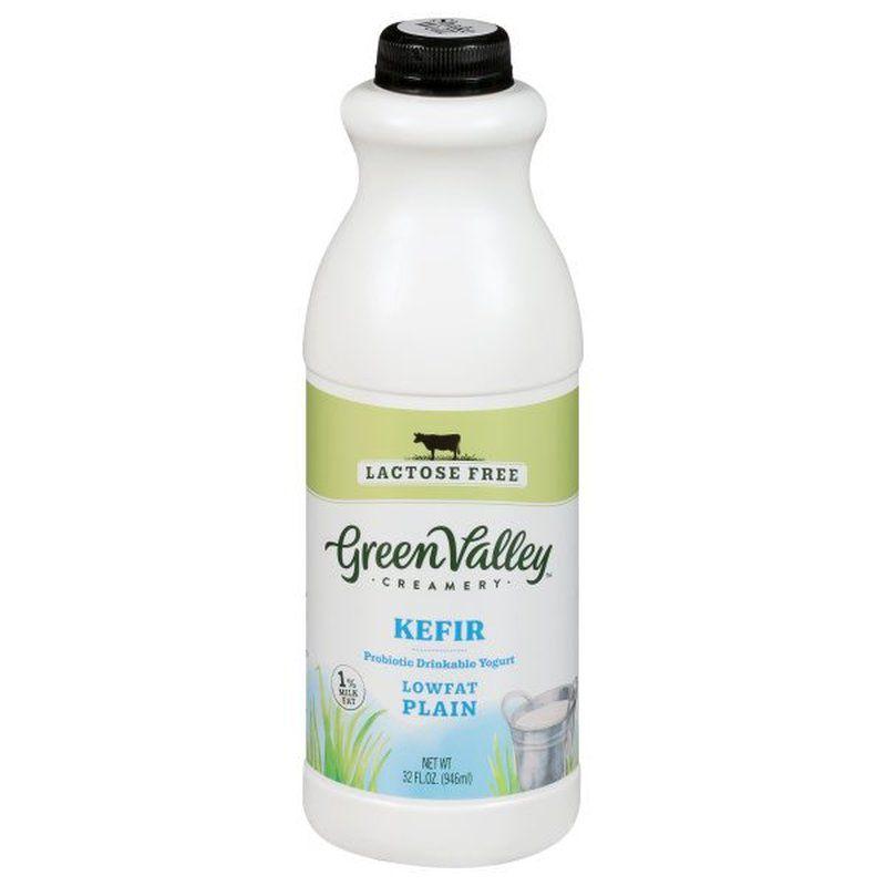 Green Valley Creamery Kefir Lowfat Plain
