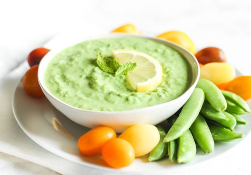 Lemon Mint Pea Dip