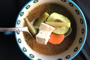 Asian-Inspired Low-FODMAP Soup