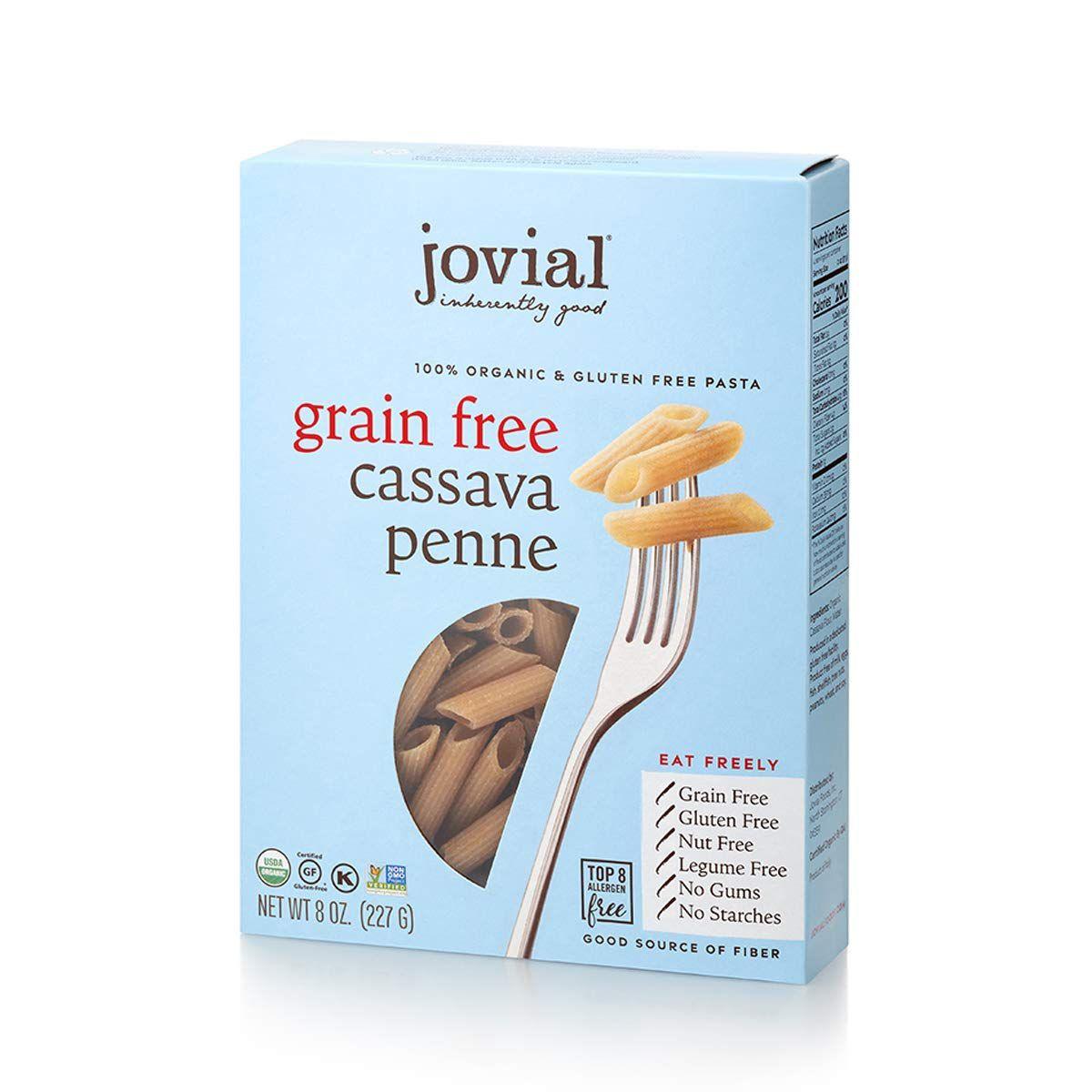 Jovial Grain-Free Cassava Penne Rigate