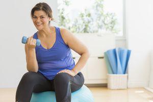 Overweight women gets weight loss help