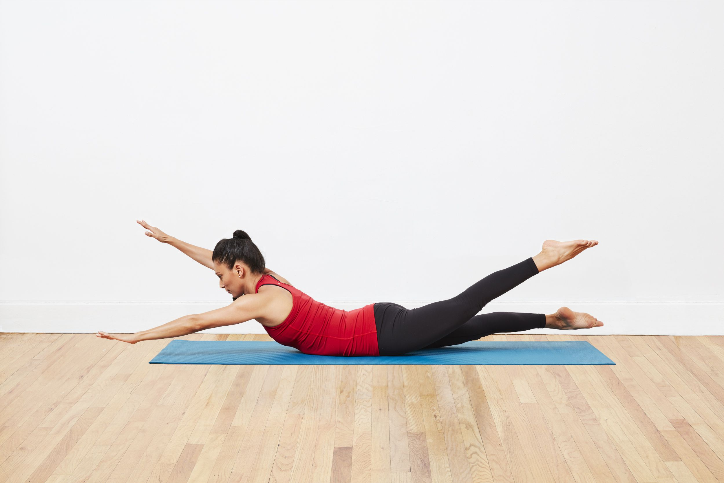 How to Do Swimming in Pilates