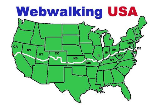Webwalking USA Map