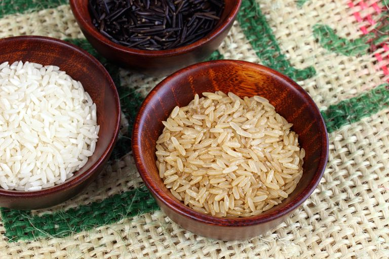 Brown rice is better for your diet.