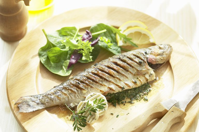 trout is good for your skin