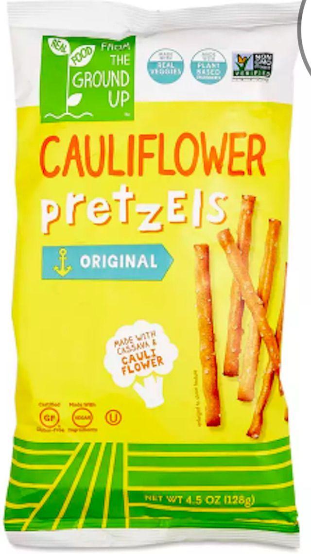 From The Ground Up Cauliflower Pretzels