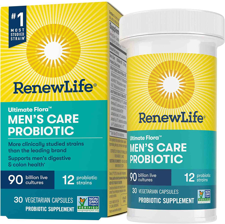 Renew Life Ultimate Flora Men's Care Probiotic