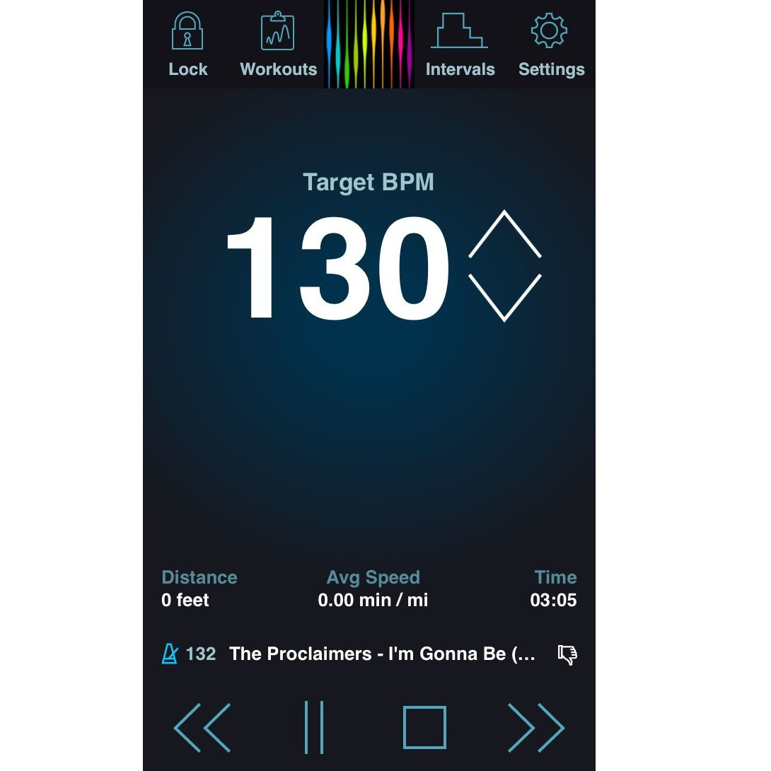 PaceDJ App - Workout to the Right Beats per Minute