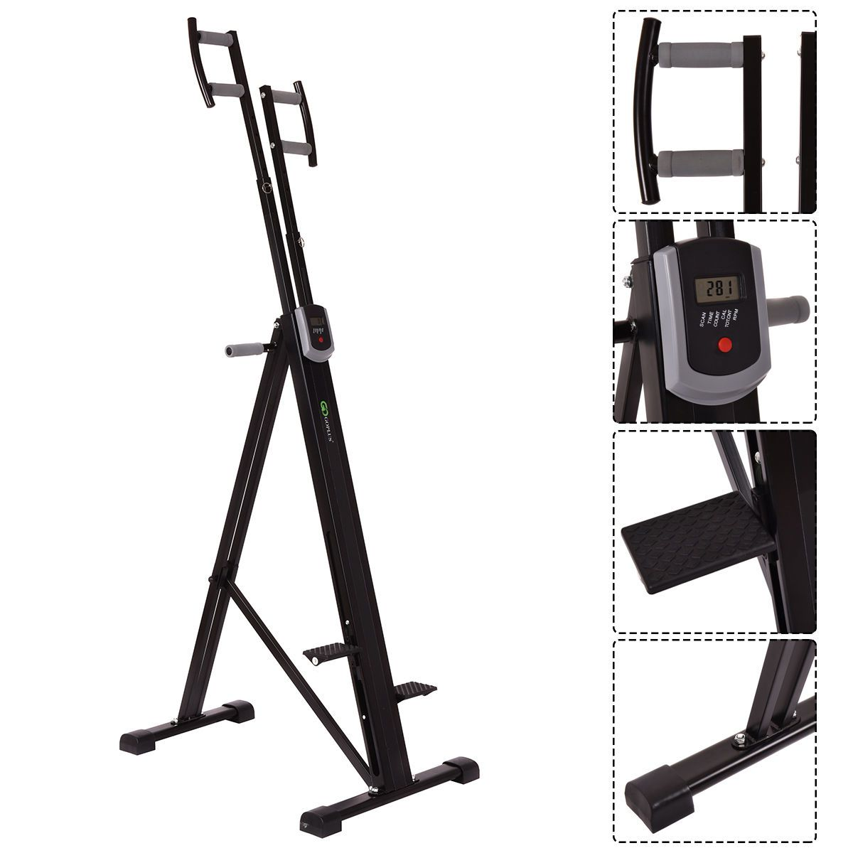5fc65848e2d Best Vertical Climber for Beginners  Costway Foldable Vertical Climber  Machine