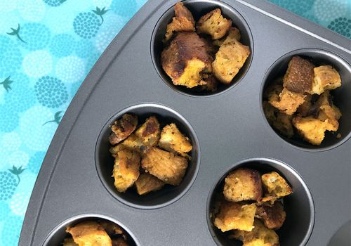 vegetarian stuffing cups