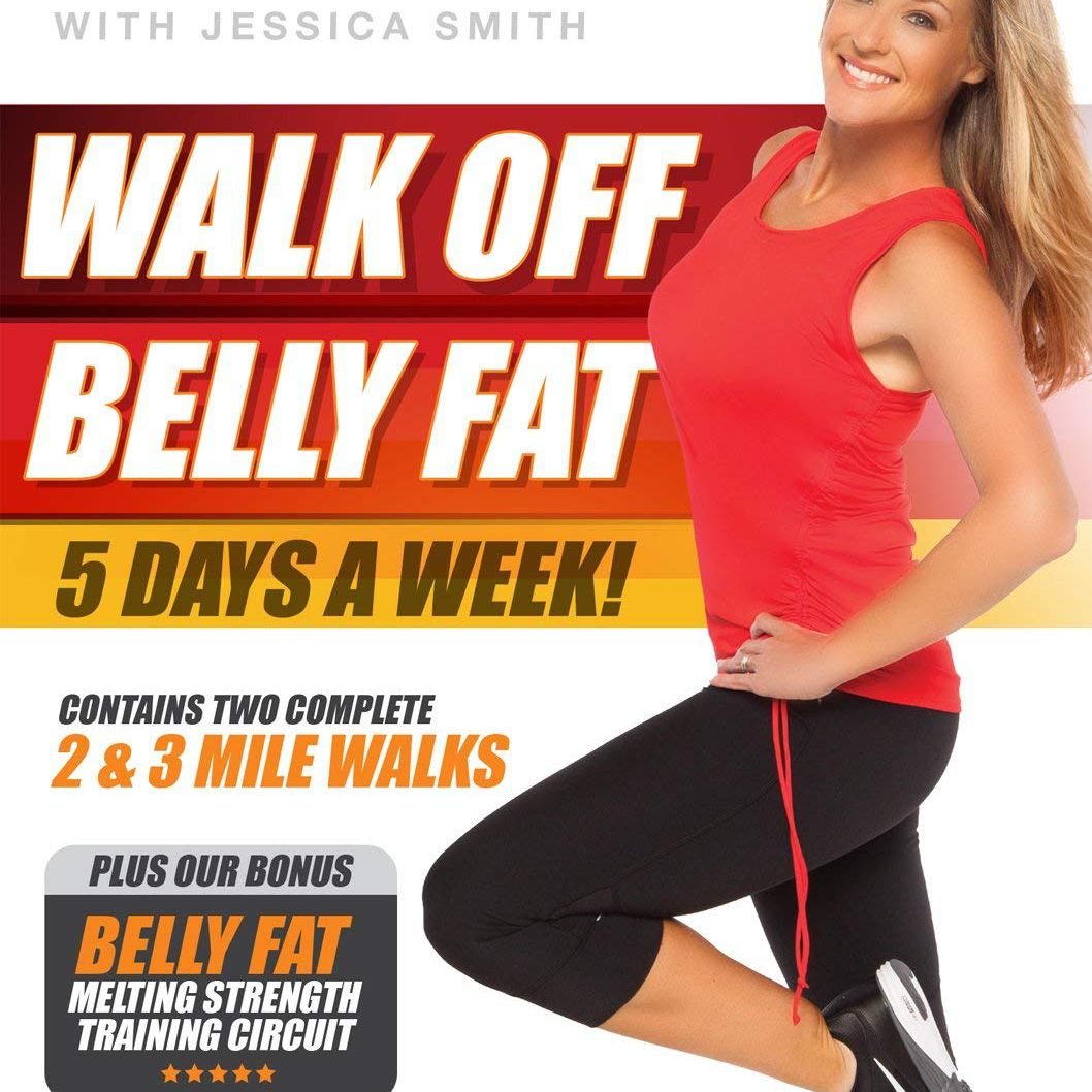 Carátula del DVD Walk Off Belly Fat
