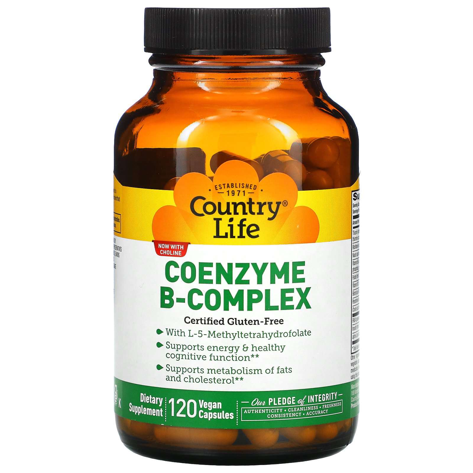 Country Life Coenzyme B Complex