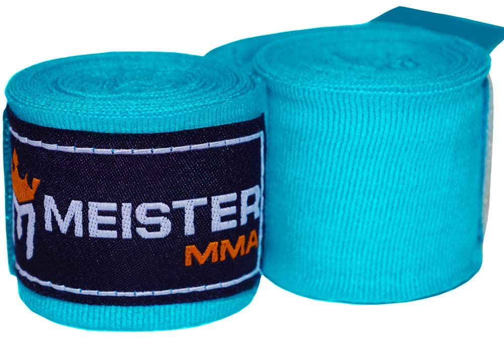"Meister MMA Meister Junior 108"" Elastic Cotton Hand Wrap"