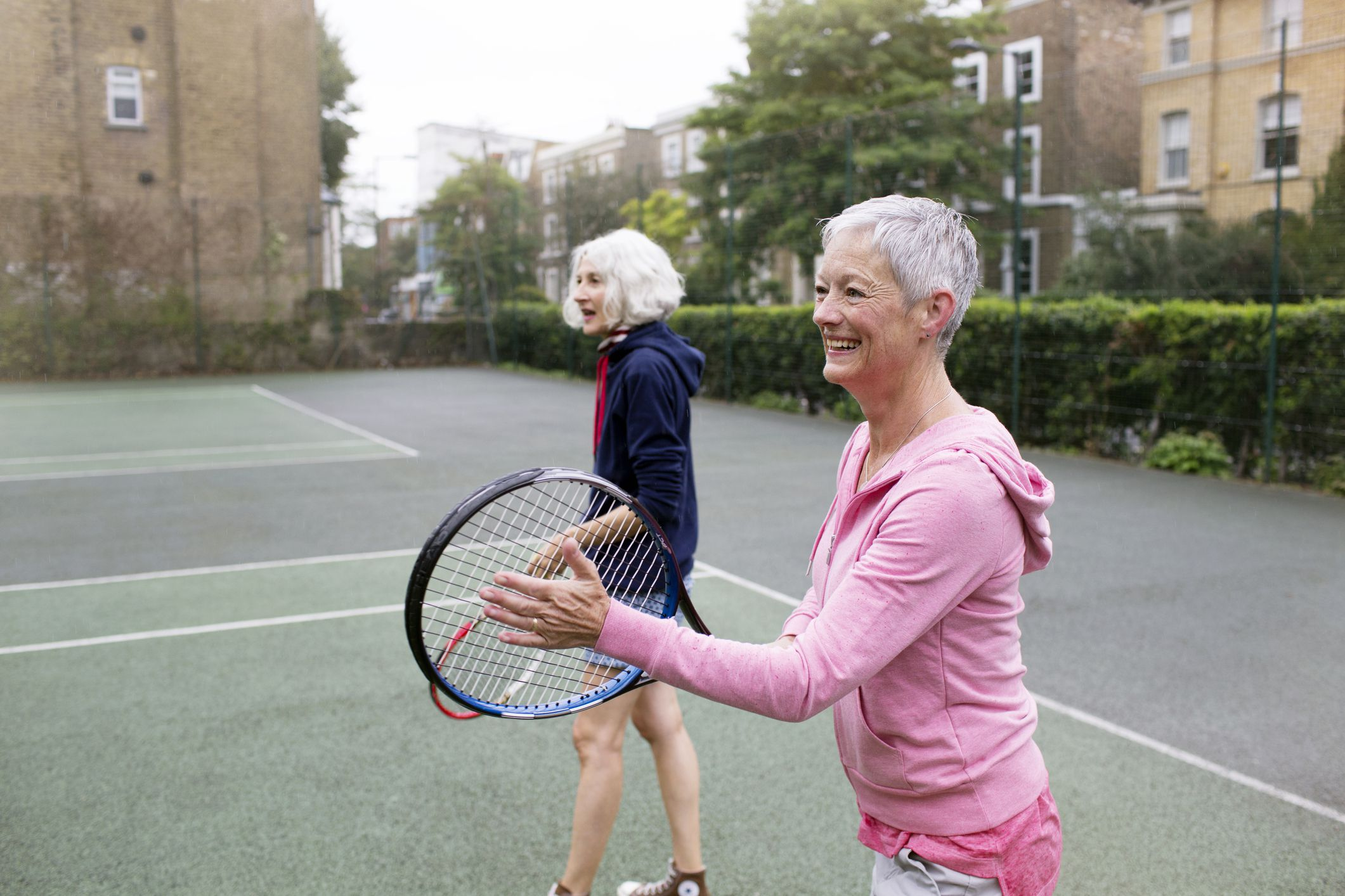9 Health Benefits of Playing Tennis