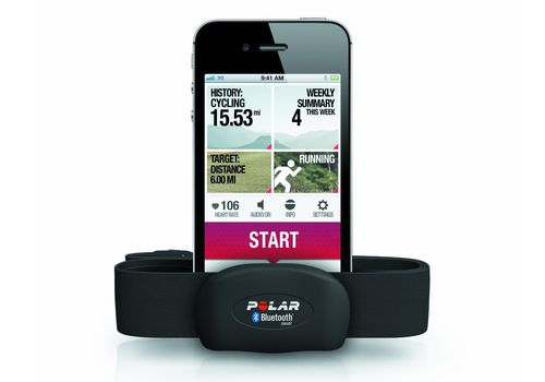 Polar H7 Heart Rate Monitor and App