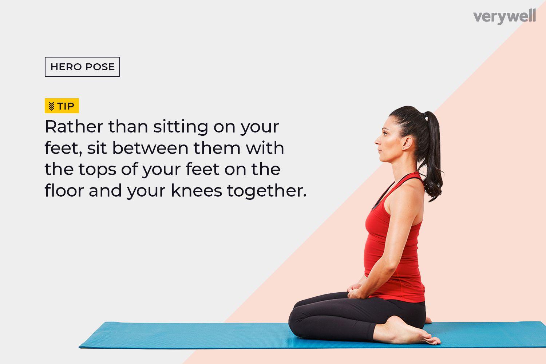 How to Do Hero Pose (Virasana)