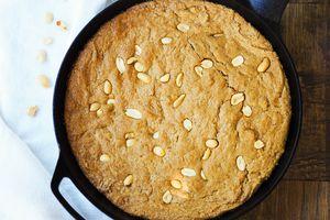peanut butter skillet cookie