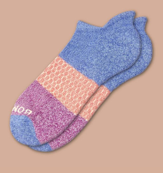 Bombas Tri-Block Ankle Socks