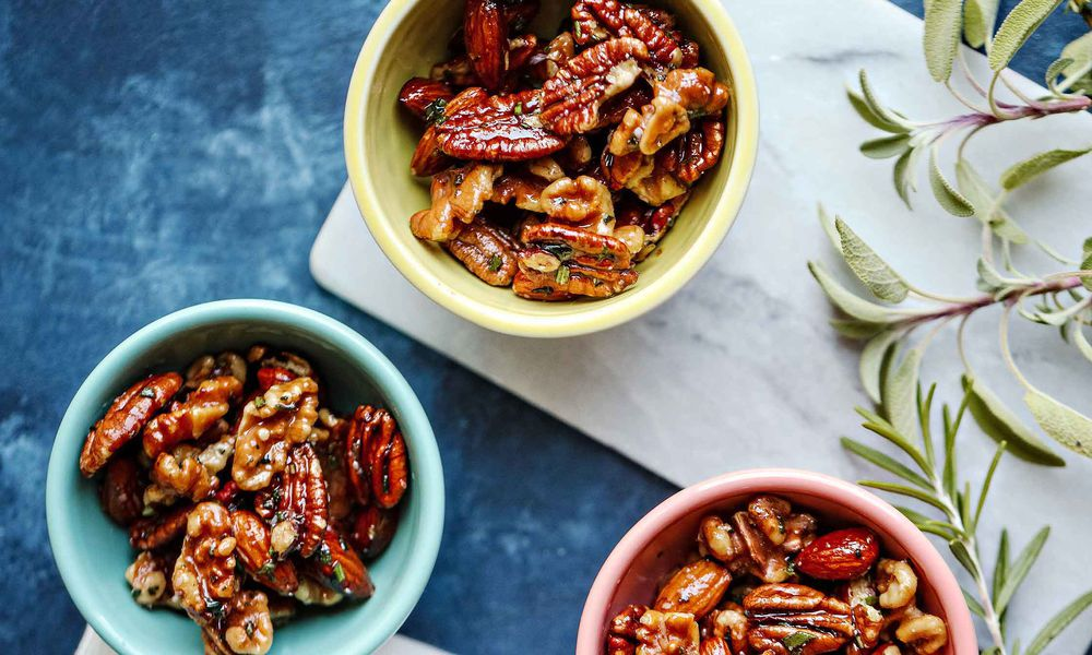 Herb-Spiced Mixed Nuts Recipe