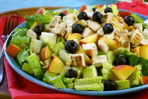 Healthy salad toppers