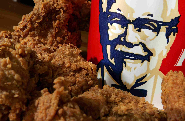 KFC Low calorie meals