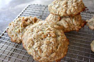 zucchini walnut breakfast cookies