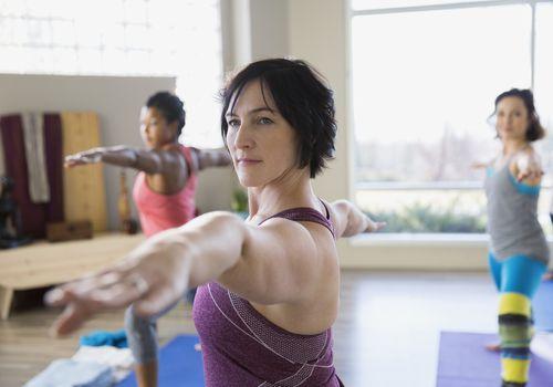 Instrucción de yoga