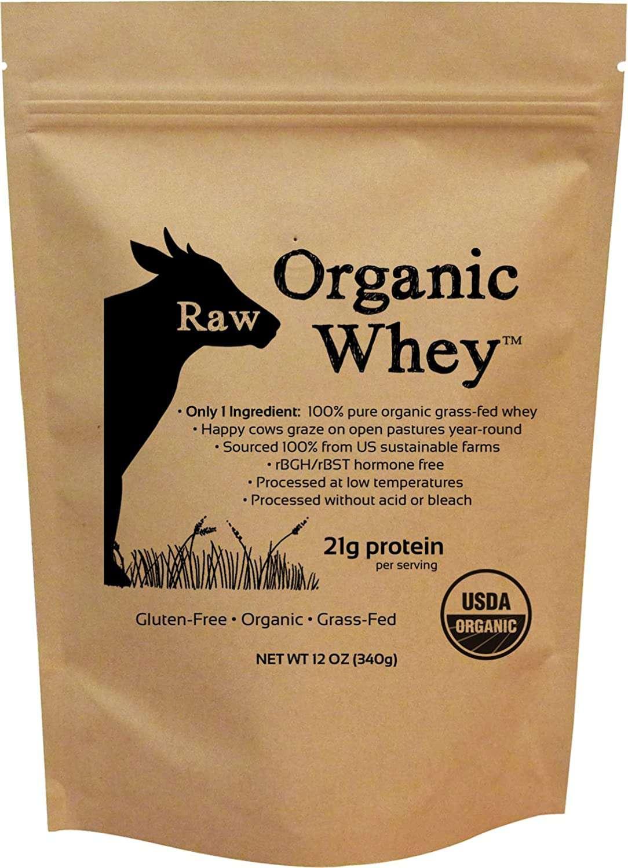 Raw Organic Whey Protein Powder
