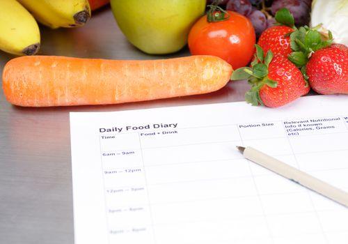 Diario de comida diaria
