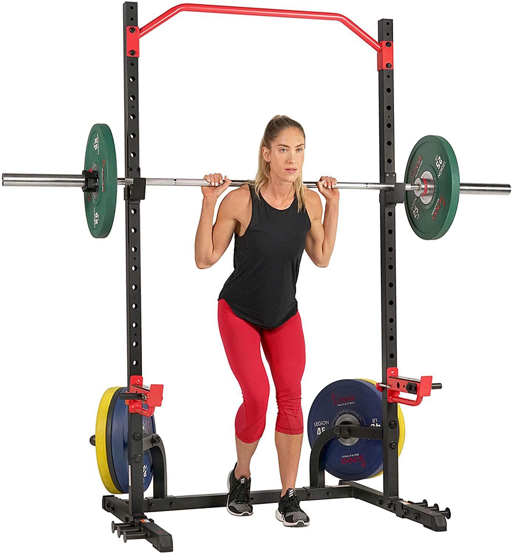 Sunny Health & Fitness Power Zone Squat Rack