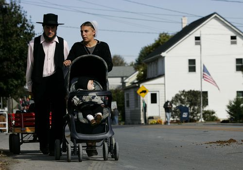 Amish Walking