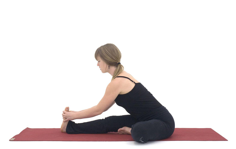 Yoga Poses for Hamstrings: Janu Sirsasana