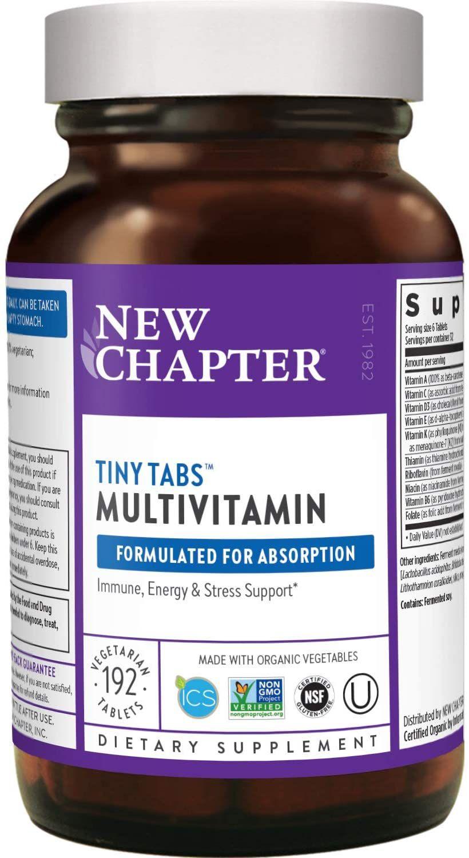 New Chapter Tiny Tabs Multivitamin
