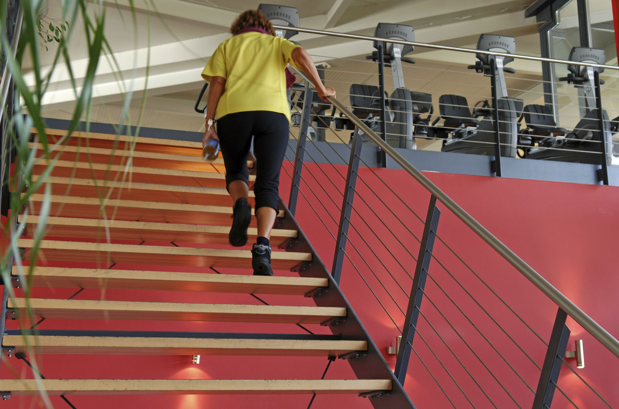 Take the Stairs to Stay Fit and Healthy